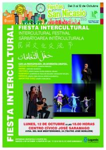 FESTIVAL INTERCULTURAL Asociacion Vecinos San Nicasio