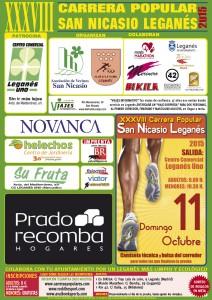 XXXVIII Carrera Popular San Nicasio Asociacion Vecinos