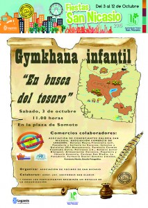 """Gymkanha Infantil """"En busqueda del tesoro"""" Asociacion Vecinos San Nicasio"""
