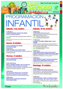 Programacion Infantil Asociacion Vecinos San Nicasio
