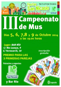 III Campeonato de Mus Asociacion Vecinos San Nicasio