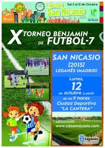 Torneo Futbol 7 Asociacion Vecinos San Nicasio