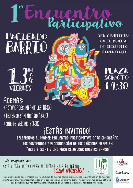 ENCUENTRO PARTICIPATIVO HACIENDO BARRIO