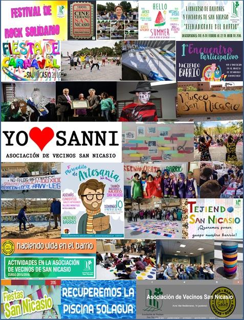 Resumen 2015_2016 Asociación de Vecinos San Nicasio