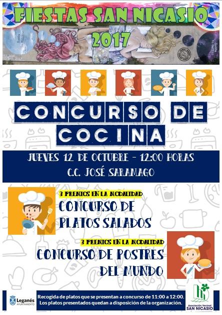 Concurso cocina ASOCIACIÓN VECINAL SAN NICASIO FIESTAS SAN NICASIO 2017