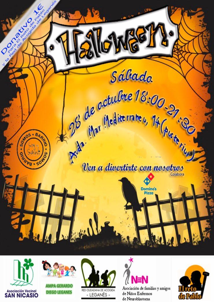 Fiesta de Halloween ASOCIACIÓN VECINAL SAN NICASIO 2017