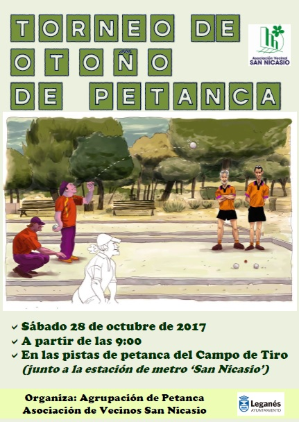 TORNEO DE OTOÑO DE PETANCA 2017