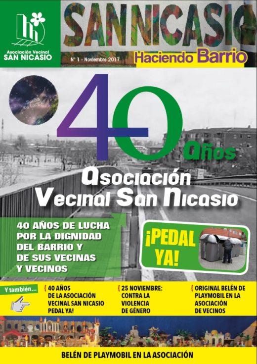 BOLETIN HACIENDO BARRIO Num1 Asociación Vecinal San Nicasio