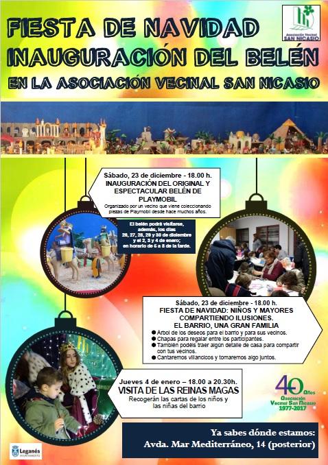 Fiesta Navidad 2017 ASOCIACIÓN VECINAL SAN NICASIO (ok)
