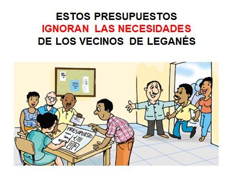 PRESUPUESTOS LEGANÉS FLAV