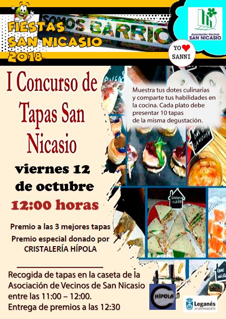 CONCURSO DE TAPAS Fiestas San Nicasio 2018 Asociación Vecinal San Nicasio (2)