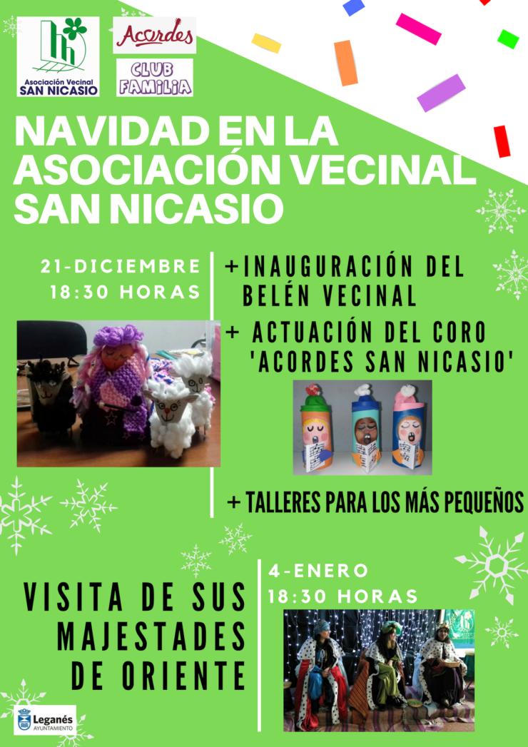 Belén y coro ACORDES SAN NICASIO Asociación Vecinal San Nicasio