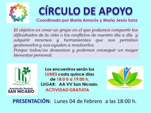 CIRCULO DE APOYO ASOCIACIÓN VECINAL SAN NICASIO
